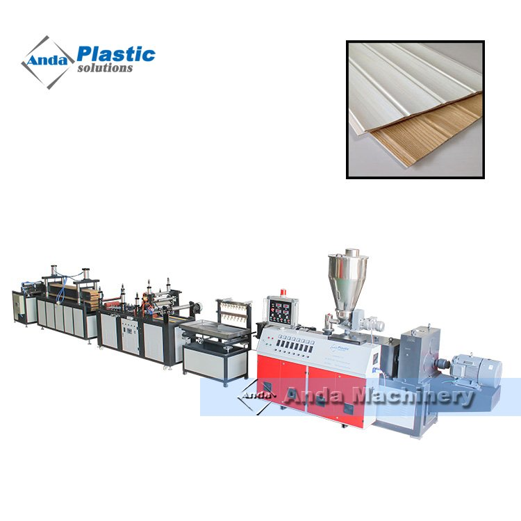 popular 250mm pvc wall panel price production line in Pakistan