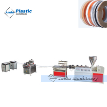 pvc edge band strips making machine/production line/extrusion line with single screw