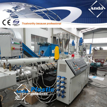 double out UPVC electrical conduit pipe production line