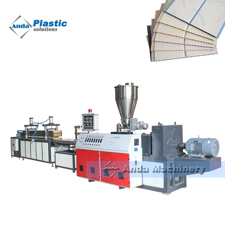 China pvc ceiling panel machine / pvc ceiling panel production line with price