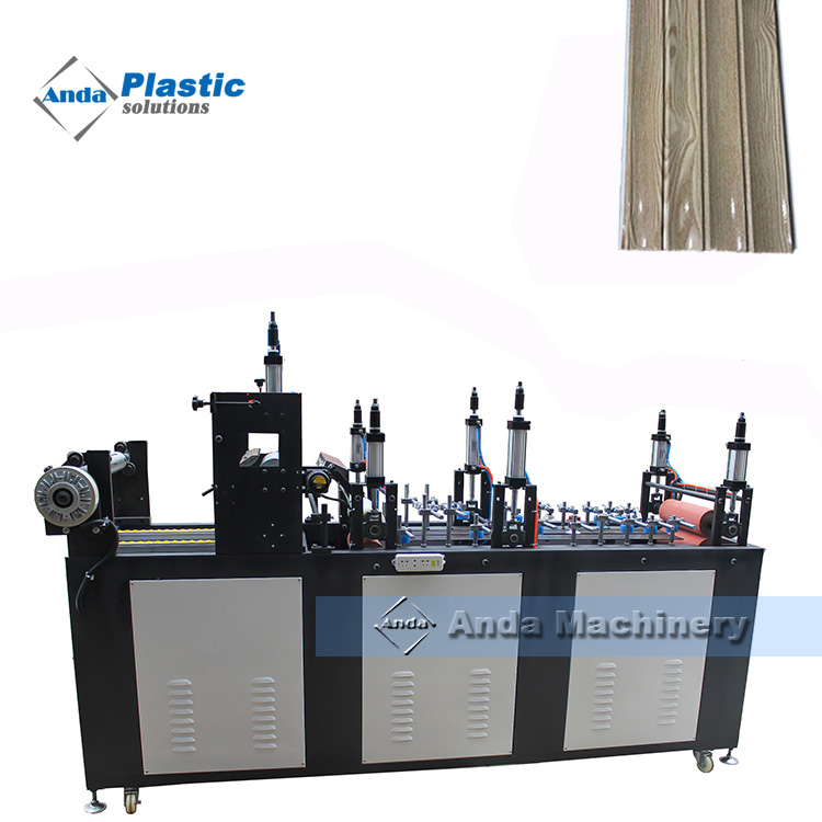 PVC wall panel manufacturing machine