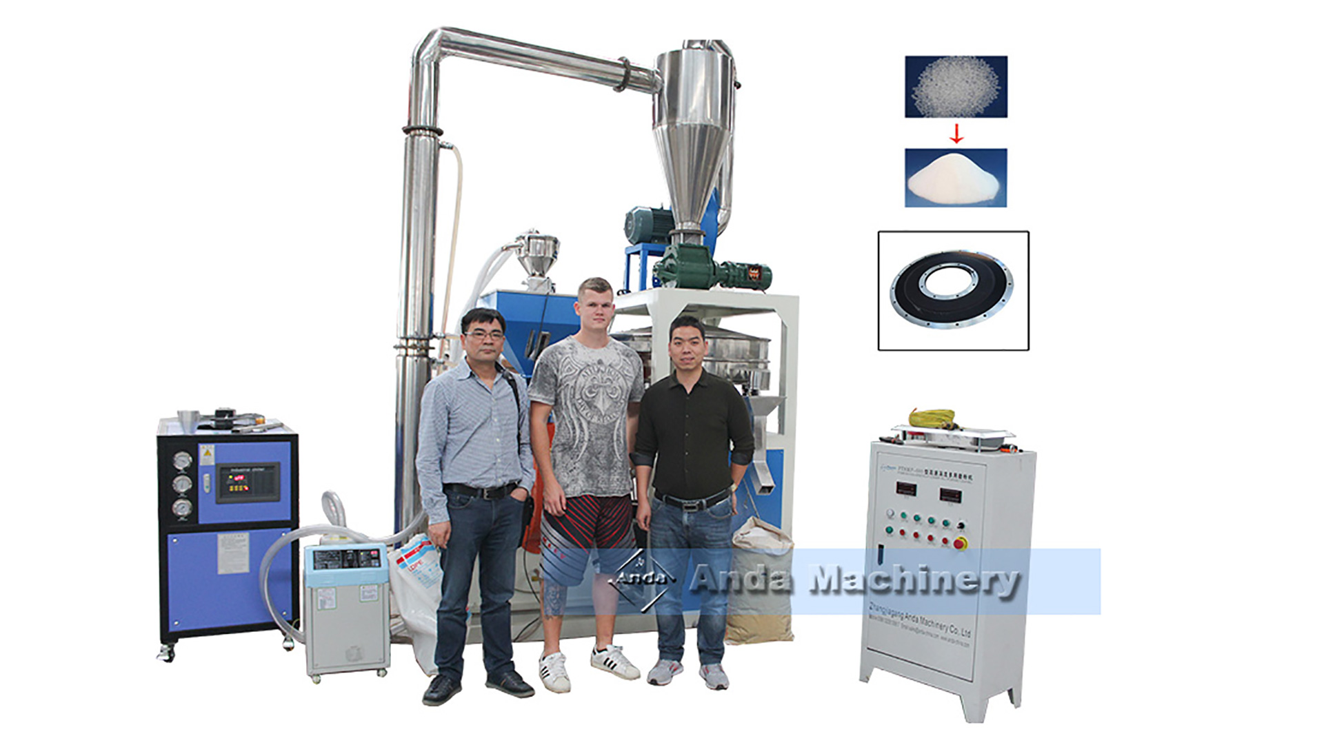 How to choose plastic pulverizer for different materials