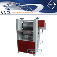 online embossing machine for plastic lumber