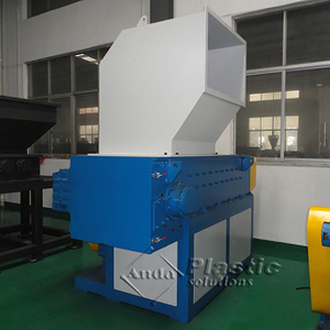 single shaft shredder for plastic pipe