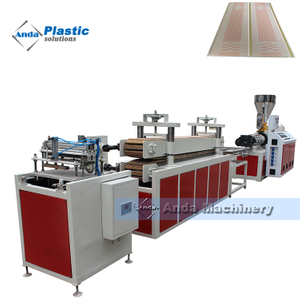 PVC ceiling panel production line with transfer printing machine