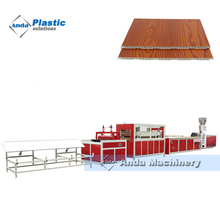 hollow WPC PVC wall panel production line