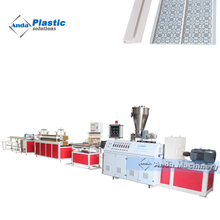 PVC ceiling panel extruder
