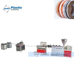 China single screw pvc edge band making machine manufacturer