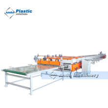 3 roller high glossy UV coating line for PVC marble sheet