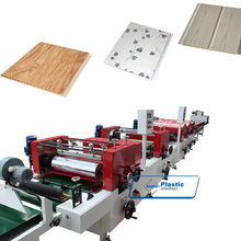 Two color printing line for PVC ceiling tiles