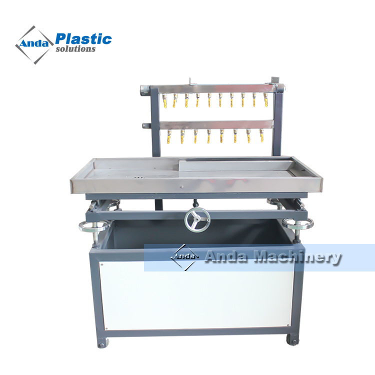 best price pvc ceiling panel making machine with double screw in Algeria