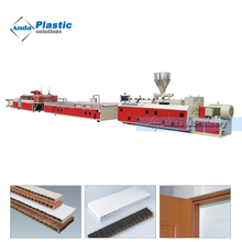 UPVC WPC wood plastic profile extrusion production line