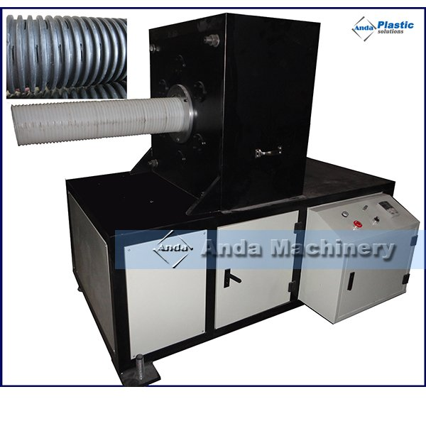 HDPE corrugated pipe slotting machine
