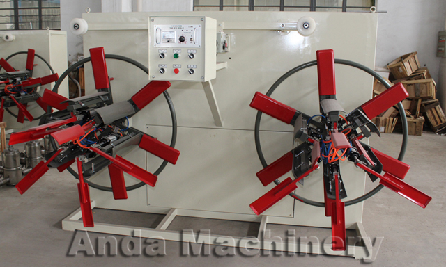 high speed double disc winding machine/winder
